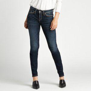 Silver Jeans Suki Mid-Rise Skinny W 27 L 31